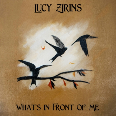 What's in front of me - front cover. In conjunction with Lucy Zirins www.lucyzirins.co.uk