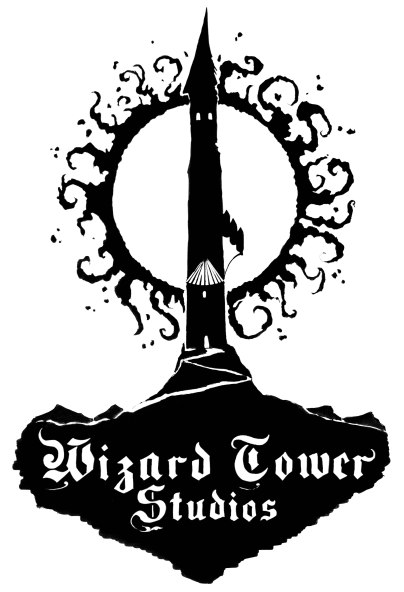 Wizard Tower Studios Logo (ink)