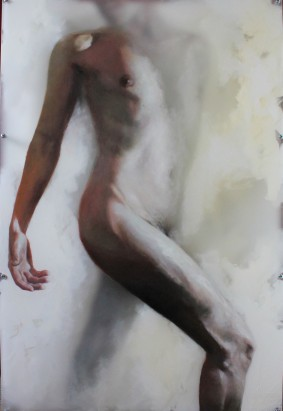'Dancer' Oil on Perspex panels (90 x 60cm)